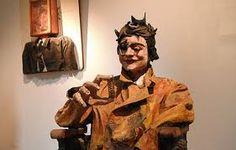 escultura em papel mache - Pesquisa Google
