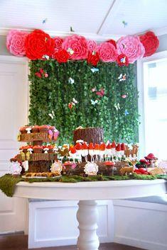 Trendy Garden Party Ideas For Kids Birthdays Woodland Fairy Ideas Zelda Birthday, Fairy Birthday Party, Garden Birthday, 4th Birthday, Enchanted Forest Party, Woodland Fairy, Unicorn Party, Bee, Drawing