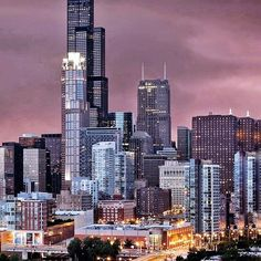 Nightmare is everywhere. The Ch, Chicago City, Willis Tower, Just Go, My Eyes, Globe, The Creator, Activities, Speech Balloon
