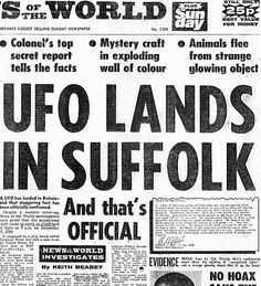 Britain's Roswell: the truth behind the Rendlesham Forest UFO incident - Telegraph