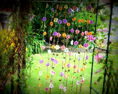 12 hanging flower garlands https://www.etsy.com/uk/listing/236967073/flower-garland-stunning-set-of-12