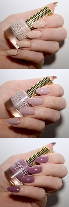 Floss Gloss nail varnishes - perfect manicure colours for spring!
