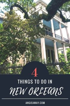 Looking for things to do in New Orleans? Check out all the activities in the French Quarter, Bourbon Street and more! #NewOrleans #Travel #Food