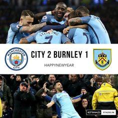 City 2 Burnley 1 Etihad Stadium  #mcfc #manchester