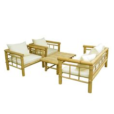 Shop ZEW  SET-029-0-03 Bamboo Sofa Set at ATG Stores. Browse our conversation sets, all with free shipping and best price guaranteed.
