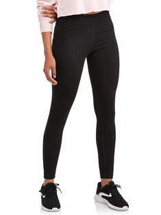 Shop for Athletic Works Womens Clothing in Clothing. Buy products such as Athletic Works Women's Commuter Pants at Walmart and save. Cheap Leggings, Best Leggings, Women's Leggings, Black Leggings, Workout Leggings, Workout Attire, Workout Outfits, Cotton Leggings, Yoga Pants
