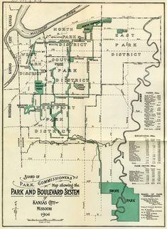 17 Best Kansas City History - Maps images in 2018 | Kansas city ...