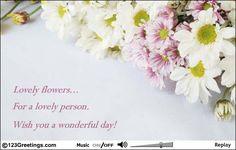 wish someone a wonderful day