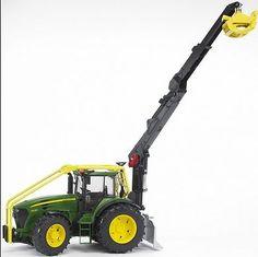 Bruder John Deere 7930 Forestry Tractor JD-LP53288 - Scruggsfarm.com