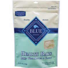 Blue Buffalo Health Bars with Apple and Yogurt Treats For Dogs
