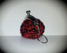Mini Porta-moedas em lã