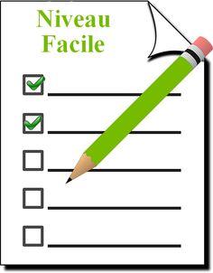 Fonctions cognitives : fiche d'exercices gratuits niveau facile
