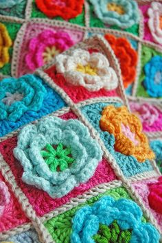 crochet pillows... by rose hip..., via Flickr  Very pretty, would love to find the pattern!  It is not here...