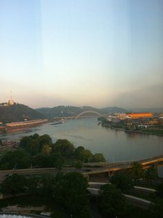 Can you believe how beautiful this city is? #onlyinpgh