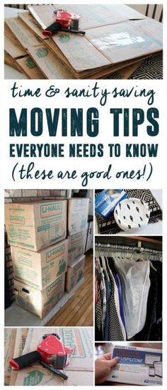 Moving Tips Everyone Needs to Know! www.BrightGreenDoor.com