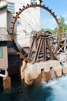 Water Wheel Grizzly River Run, California