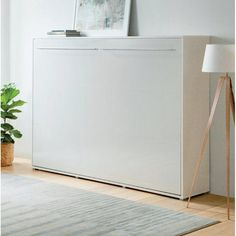 """Outstanding """"murphy bed ideas space saving"""" information is offered on our internet site. Take a look and you will not be sorry you did. Murphy Bed Desk, Murphy Bed Plans, Hideaway Bed, One Room Apartment, Apartment Therapy, Modern Murphy Beds, Old Beds, Decorate Your Room, Floor Space"""
