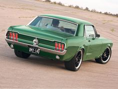 1967 mustang nice custom job love these notchbacks ford mustang coupe1967