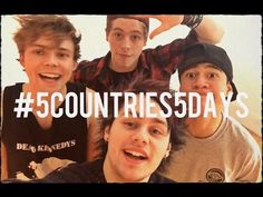 #5Countries5Days Food Challenge - 5 Seconds of Summer