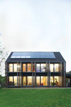witzmann residence facade opened