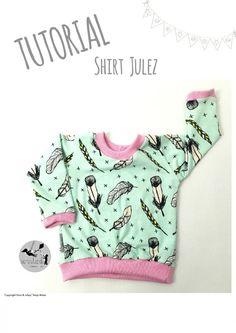 #1 TUTORIAL/FREEBOOK Shirt Julez für Neugeborene & Puppen   Sara & Julez