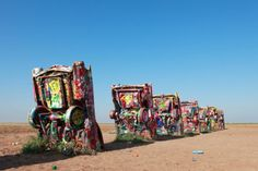 Route 66: Chicago to Arizona While on Route 66, definitely make a stop in Amarillo, Texas to check out Cadillac Ranch—it's an iconic spot al...