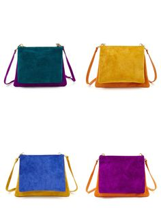 The Two-Tone Lilah Bag for Fall! #AmericanApparel