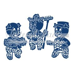 Tattered Lace - Dies - Three Little Pigs,$28.49
