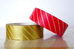 japanese washi tape - xmas wrapping