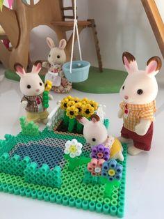 Un petit coin jardin pour nos amis les Sylvanian (+tutoriel)