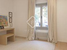 Detached house in Argentona, Maresme Coast, Barcelona Detached House, Ceilings, Property For Sale, Barcelona, Coast, Villa, Curtains, Doors, Bedroom