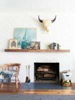This Weekend Home Makeover Is A Stunner #refinery29 http://www.refinery29.com/budget-living-room-makeover