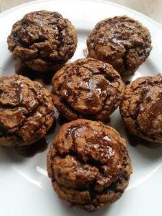 Protein banana nutella muffins with hemp seeds #hemprecipe