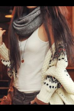 Sweater + Scarf