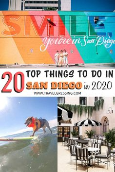 From international food festivals to the world's leading pop culture celebration, here are 20 reasons why you should visit San Diego in 2020.  #SanDiego | San Diego | San Diego Travel | San Diego Things To Do | San Diego Vacation | San Diego Weekend | What to do in San Diego | San Diego Attractions to Do