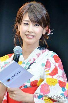 浴衣のカトバン加藤綾子