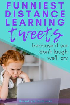 Back to school looks a little different this year, so laugh your way through it with these hilarious distance learning tweets from The Salty Mamas! Parenting Quotes, Parenting Advice, Mommy Humor, Working Mom Tips, Class Teacher, Scary Mommy, Beatles Songs, School Opening, School Looks