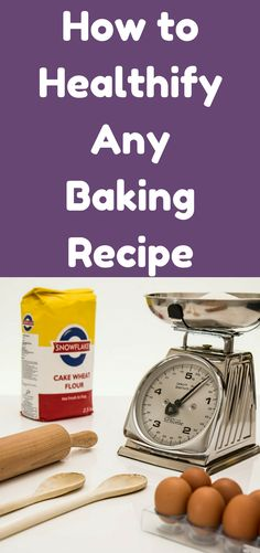 I have learned three easy ways to make baking recipes a little bit healthier, and now I'm passing them on to you. Are you ready for some healthy baking?