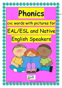 Having taught English as an Additional Language (EAL)   for many years, I am only too aware of the challenges facing EAL students when doing phonic work. This includes the difficulties when trying to hear or distinguish between sounds and problems when trying to reproduce sounds because of only learning the sounds of their first languages.An additional hindrance to progress is that students are at times presented with phonic work resources without illustrations / pictures.