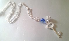 Pretty key pendant on chain - The Supermums Craft Fair