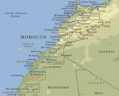 Marrocos: Fez, Marrakech, Saara...