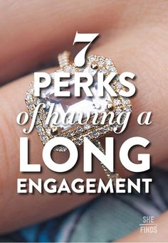 The perks of having a long engagement