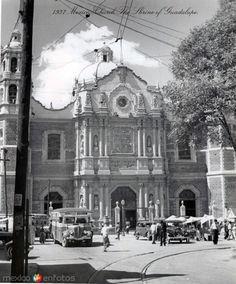 La Villa de Guadalupe Hacia 1937 - Fotos de Ciudad de México, Distrito Federal, México