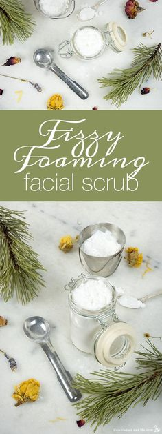 Today's rather fun Fizzy Foaming Face Scrub comes from a recipe request Kaylee sent in. She'd found a facial scrub that fizzed up like a bath bomb when it got wet, as well as lathered up into a lovely foaming … Continue reading →