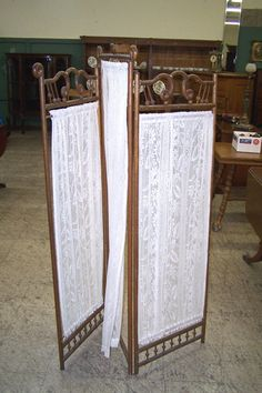 Victorian Dressing Screens