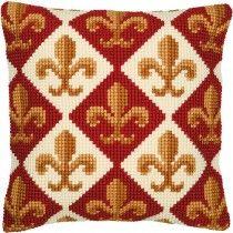 Vervaco Pattern 1 Cross Stitch Cushion Kit