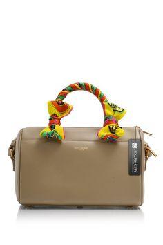 7daf0423d9 -Yves Saint Laurent- Classic Baby Duffle Bag Brown  YSL  Handbags