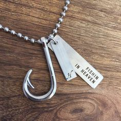 Men's Fishin in Heaven Necklace