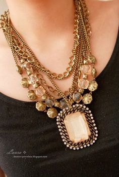Dressing Your Truth Ideas Type 3: Jewelry Ideas~~Necklaces