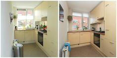 Keuken voor en na verkoopstyling